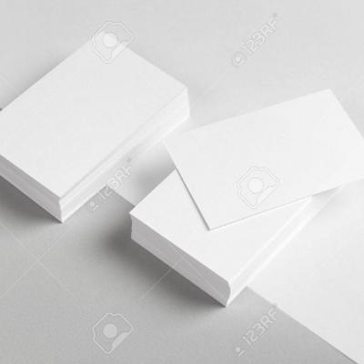 38996491 photo de carte de visite et une partie de la tete mock up de l identite de marque pour graphistes prese